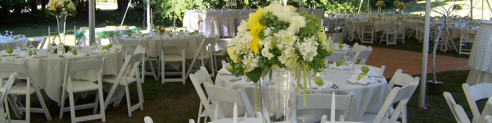 Wedding rentals in Vancouver/Portland, Clark County Washington and Hood River County Oregon