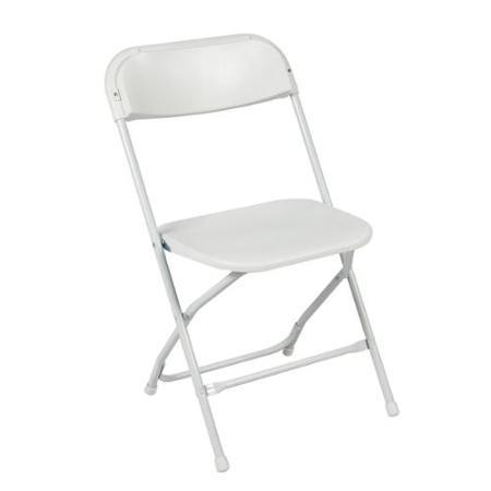 Where to find B Rated White Samsonite Folding Chair in Vancouver