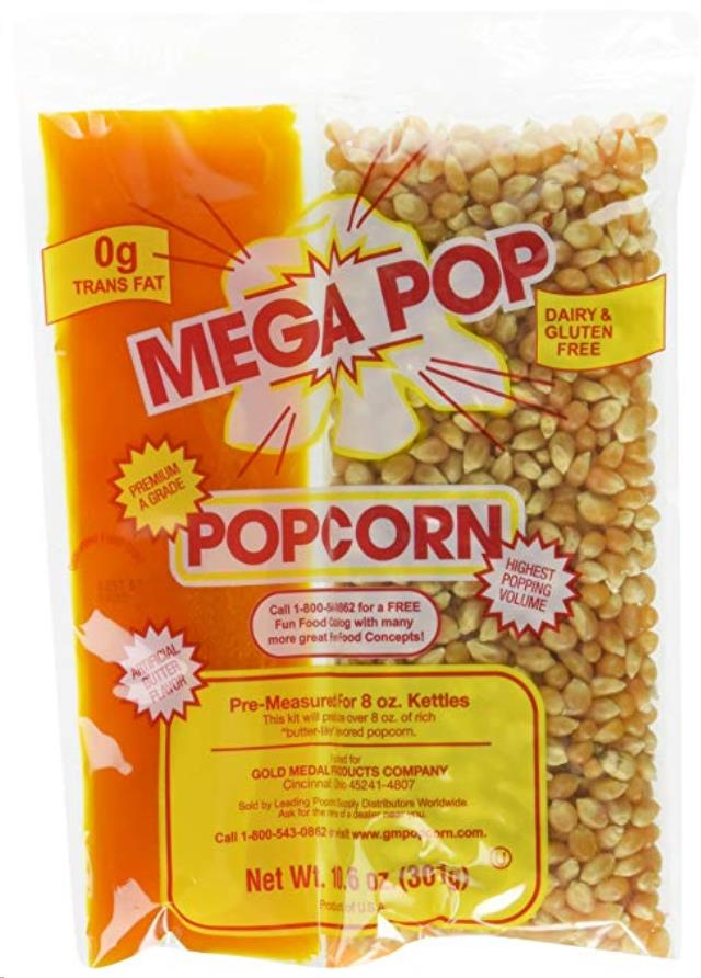 Where to find Popcorn Packets 8oz in Vancouver