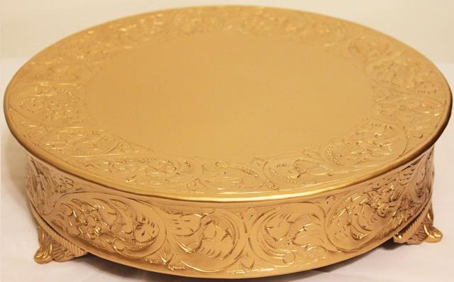 Where to find GOLD CAKE STAND 18 in Vancouver