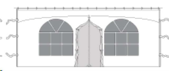 Where to find Tent Wall 20    Zipper Door With Windows in Vancouver