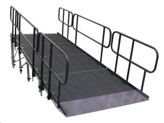 Where to find ADA Stage Ramp With Hand Rail 24 in Vancouver