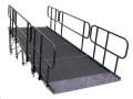 Rental store for ADA Stage Ramp With Hand Rail 24 in Vancouver WA