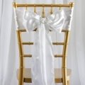 Rental store for Chair Sash White Satin in Vancouver WA